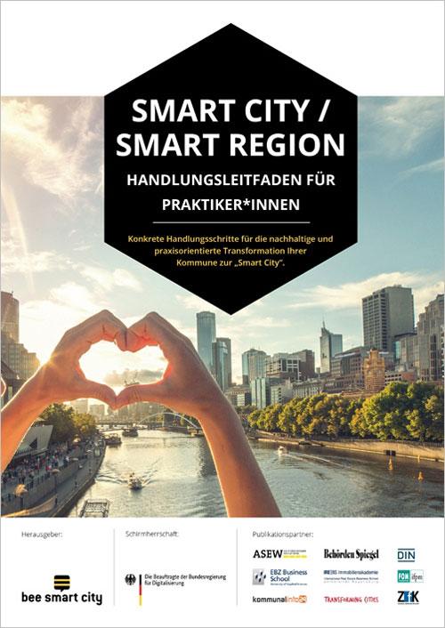 bee smart city - Handlungsleitfaden Smart City / Smart Region Titelseite