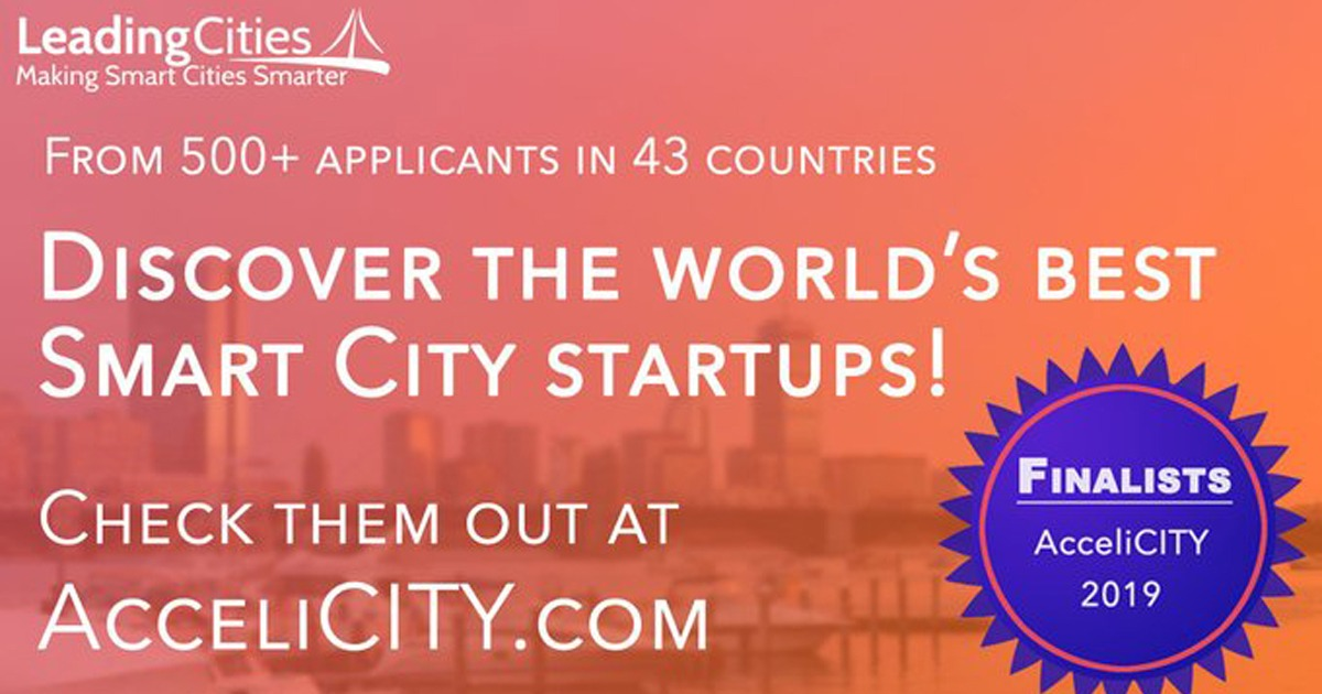 AcceliCITY Smart City Startup Accelerator Finalists 2019