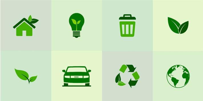 Grüne nachhaltige Städte in Spanien Blog