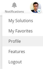 Profile Ind A Menu Under Profile Picture Screenshot
