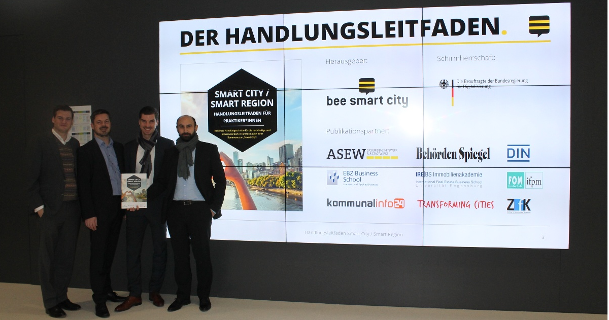 Vorstellung bee smart city Handlungsleitfaden