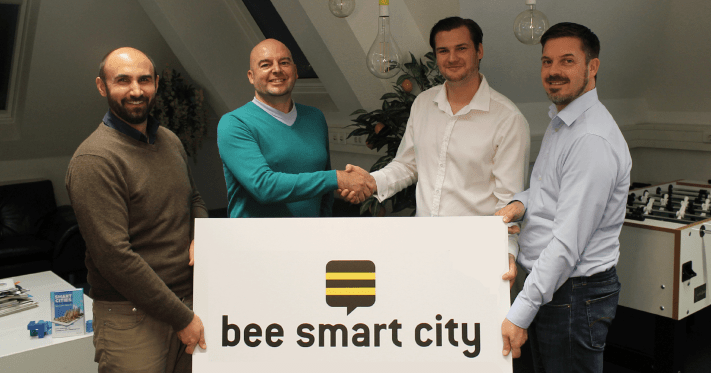 bee smart city merges with Labcities into a global smart city network