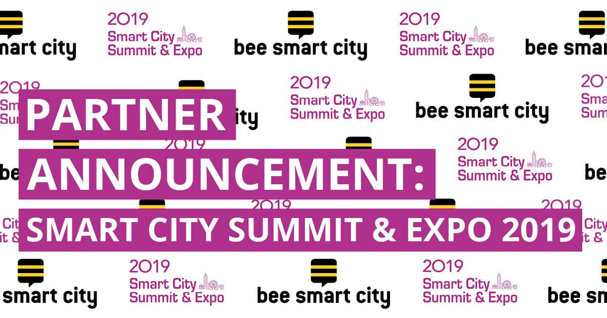 bee smart city partners with Smart City Summit & Expo 2019 in Taiwan