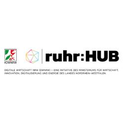 ruhr:HUB DWNRW Logo