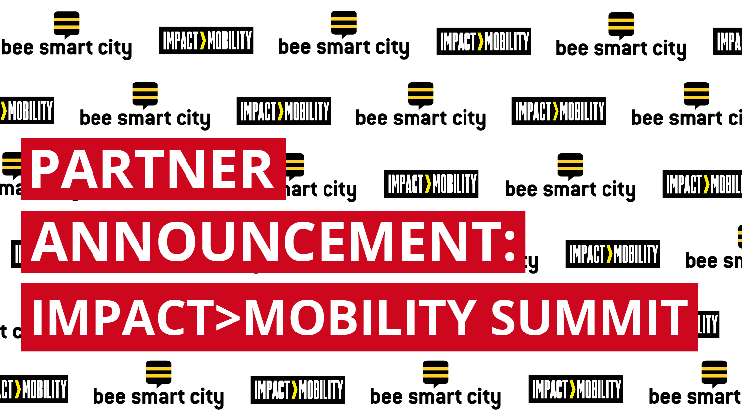 bee smart city partners with IMPACT>MOBILITY SUMMIT 2019