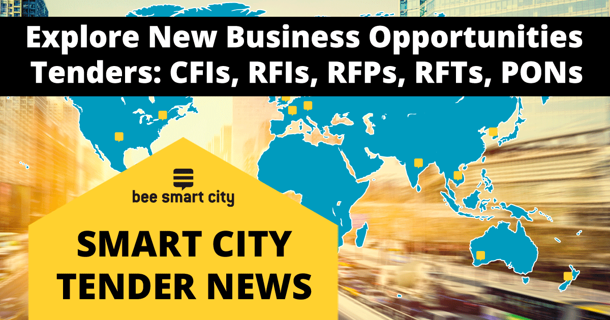 Access the latest smart city tenders on bee smart city