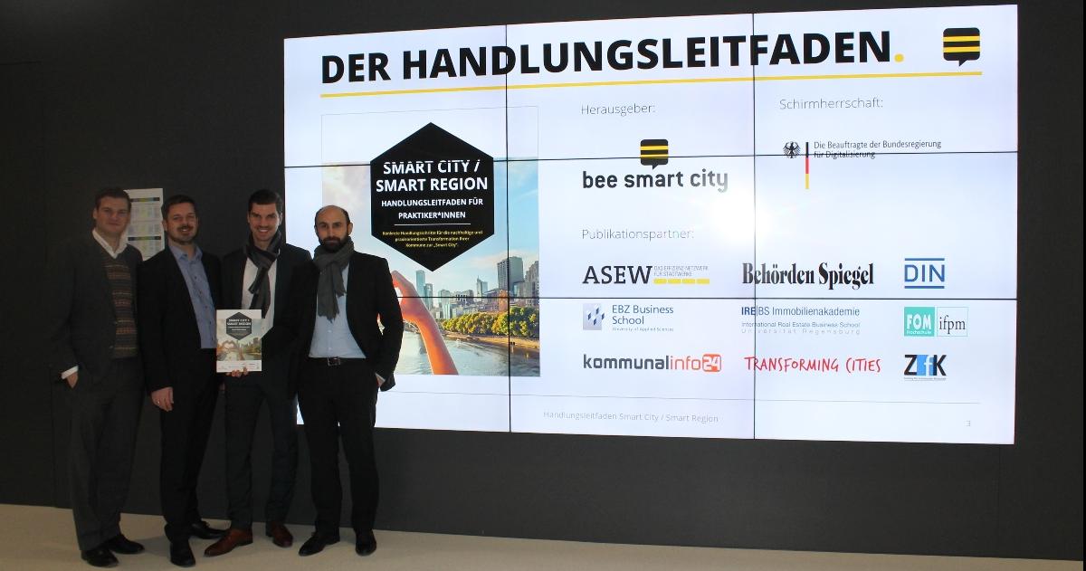 Konkrete Handlungsschritte zur Umsetzung einer integrierten Smart-City-Strategie: Kostenloser Handlungsleitfaden Smart City / Smart Region für Kommunen veröffentlicht