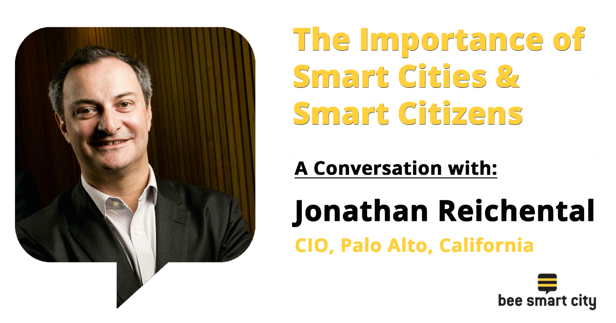 Jonathan Reichental on the importance of smart cities & smart citizens