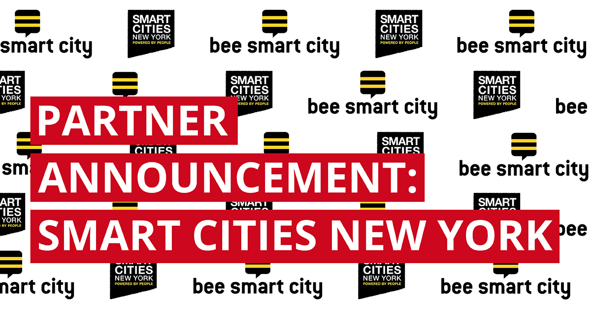 bee smart city and Smart Cities New York form strategic partnership
