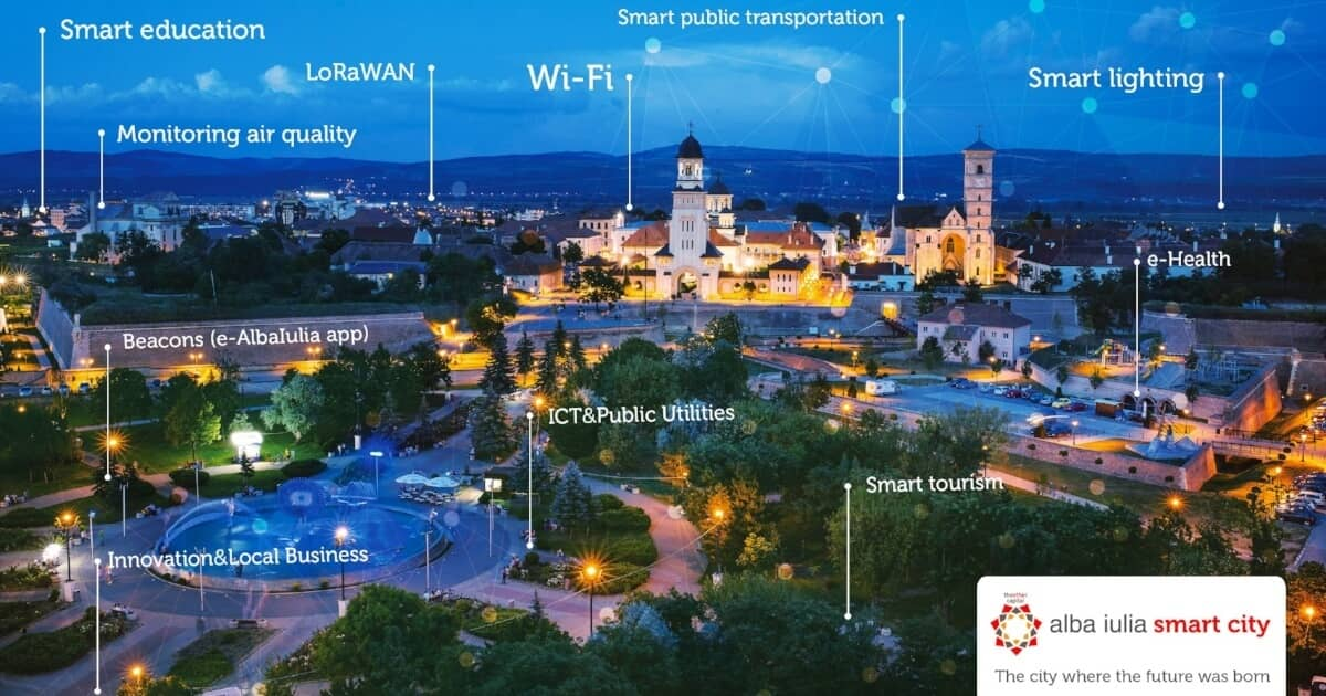 Alba Iulia Smart City: Solutions For A Digital City