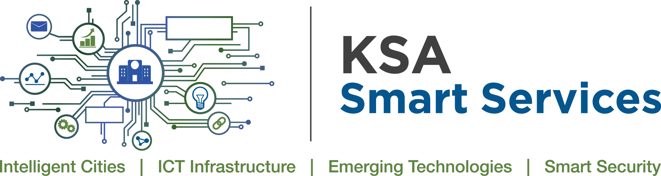 KSA Smart Services & Intelligent Cities Logo