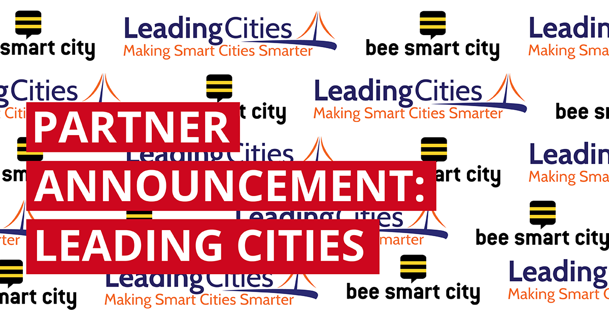 bee smart city and Leading Cities join forces for smarter cities