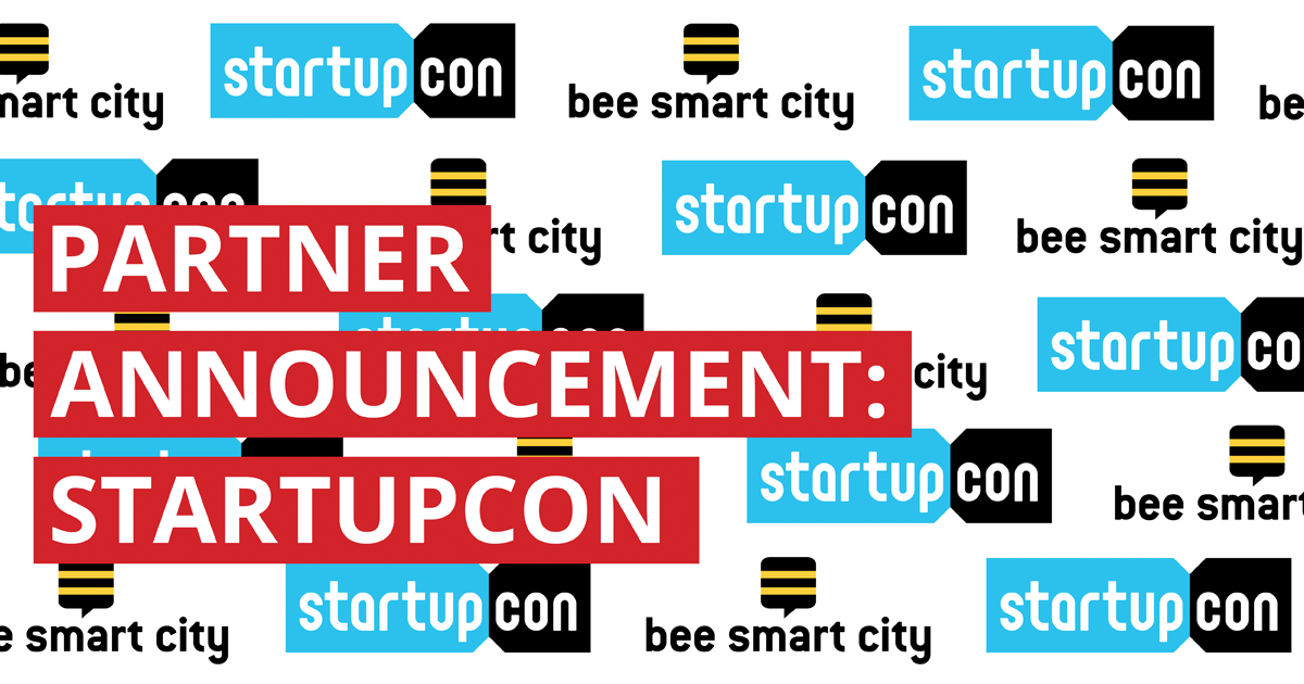 bee smart city partners with StartupCon to support Smart City Startups